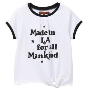 7 for All Mankind Side Tie Ringer T-Shirt  (0)
